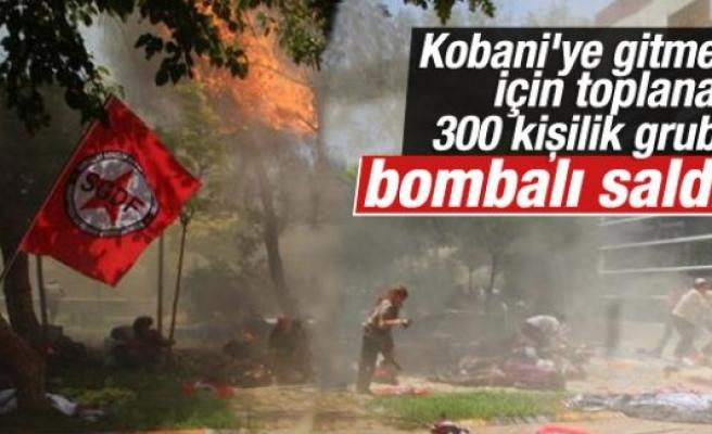 Kobani'ye gidecek gençlere Urfa'da saldırı