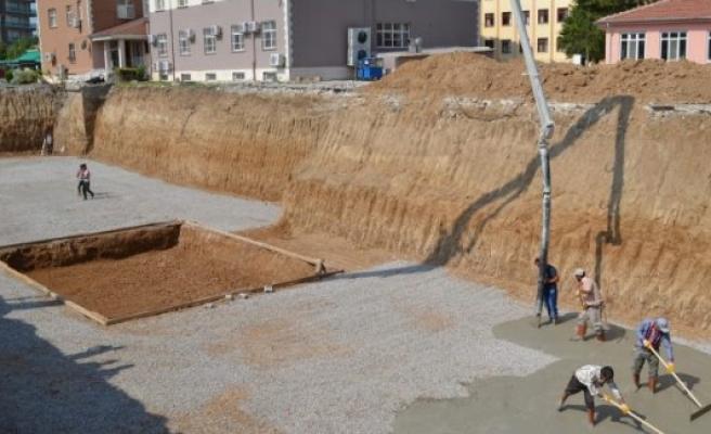 Kulu Devlet Hastanesine İlk Beton Atıldı