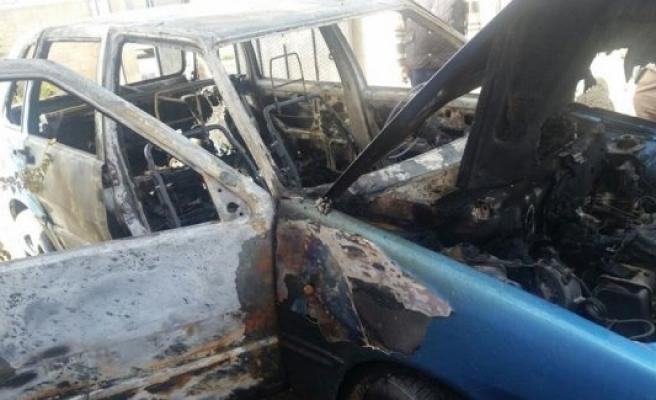 Kulu'da Araç Yangını
