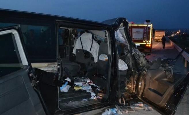 Kulu'da Kaza 1 Ölü, 4 Yaralı