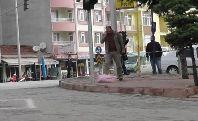 Kulu'da Şüpheli Bez Çantasında bomba paniği