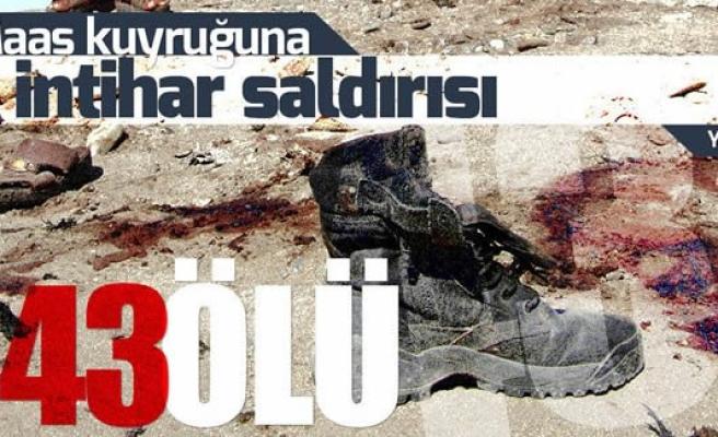 Maaş kuyruğuna intihar saldırısı: 43 ölü