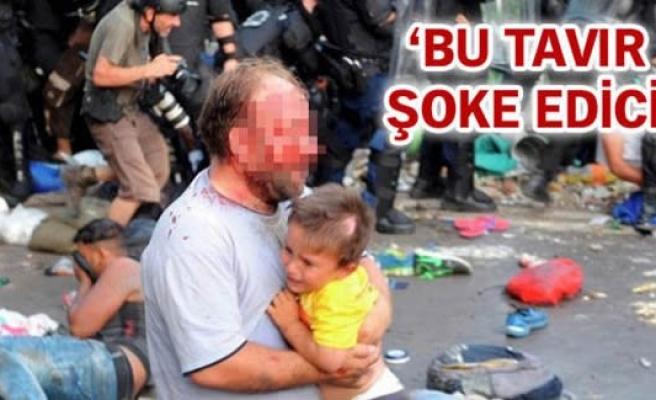 Macar polisinin gaz bombası göçmen çocuğu kör etti
