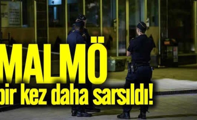 Malmö bombalı saldırıyla sarsıldı