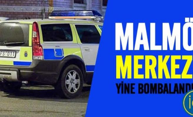 Malmö'nün kalbinde patlama!