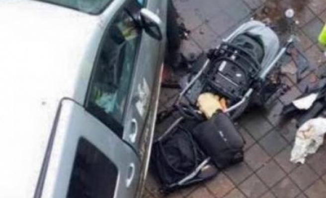 Malmö'de arabasıyla polisten kaçarken anne ve 2 aylık bebeği ezdi! FOTO