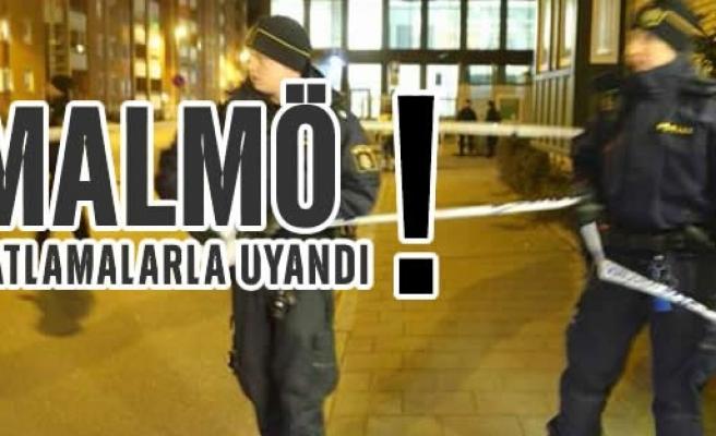 Malmö'lüler patlamalarla uyandı