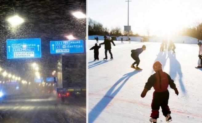 Meteoroloji uyardı: İsveç'e beklenen kış geliyor!