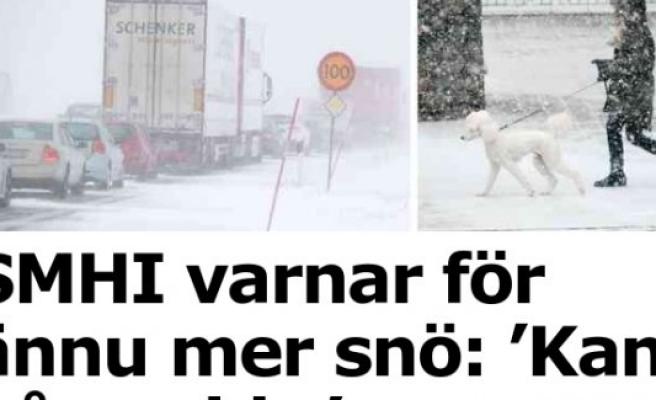Meteoroloji uyardı! İsveç'e Kar geliyor