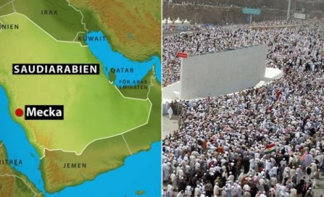 Mina'da İsveç vatandaşı 450 hacıdan haber alınamıyor