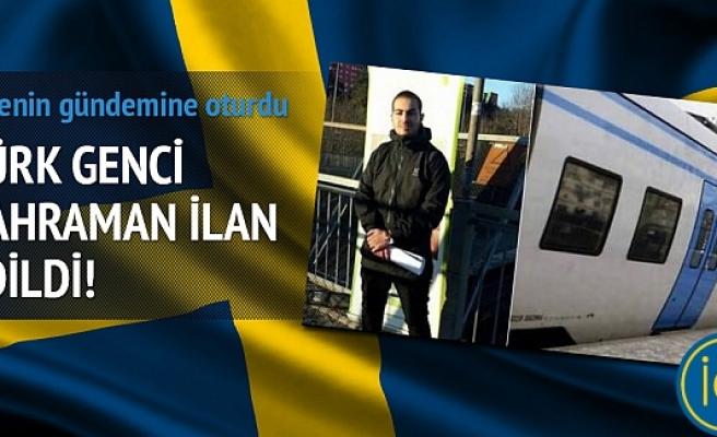 Murat Erdal, İsveç'te kahraman ilan edildi