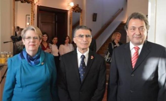 Nobel Ödüllü Sancar Onuruna Stockholm'de  Resepsiyon