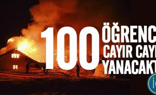 Norveç'te 100 Danimarkalı öğrenci yanarak ölmekten son anda kurtuldu!
