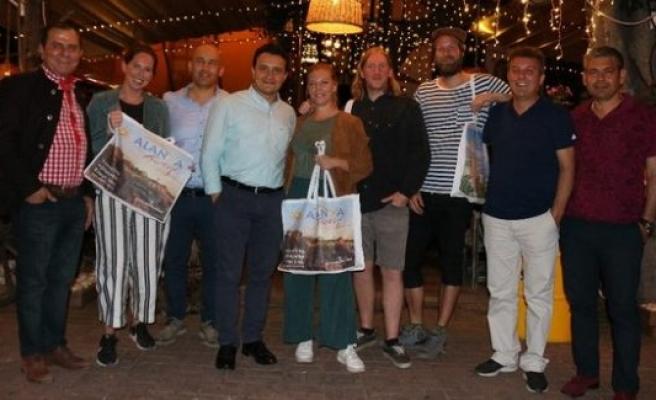 Norveçliler Alanya'da dizi çekti