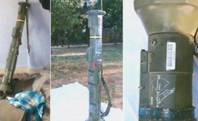 Nusaybin'de ABD-İsveç yapımı antitank roketi ele geçirildi