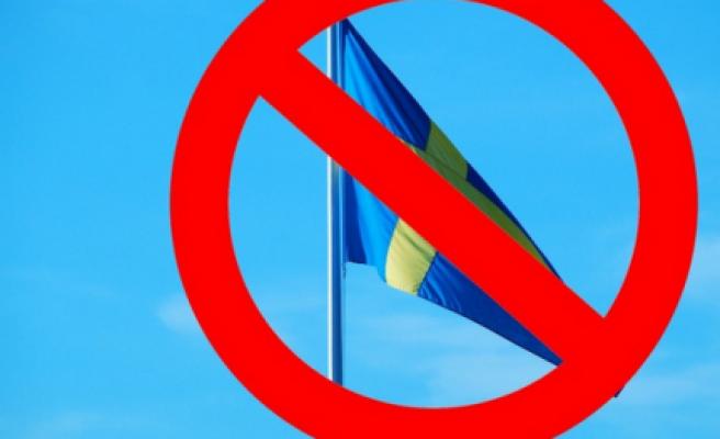 Okul'da, İsveç Bayrağı yasaklandı