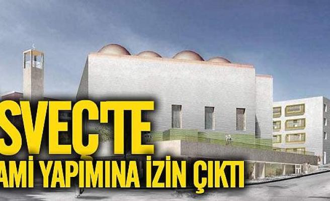 Rinkeby'e cami yapılmasına izin çıktı