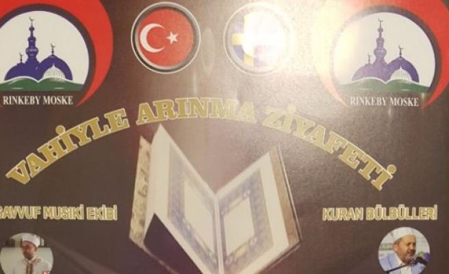 Rinkeby Mevlana Camii Derneği'nden Kur'an Ziyafeti