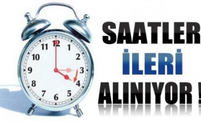 Saatler 1 saat ileri alınıyor;Yarın işe geç kalmayın!