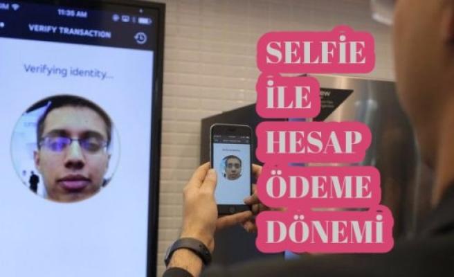 Selfie yaparak kredi kartı ile ödeme devri başlıyor
