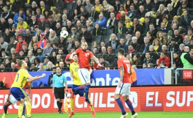 Şili, İsveç'i 90. dakikada yıktı