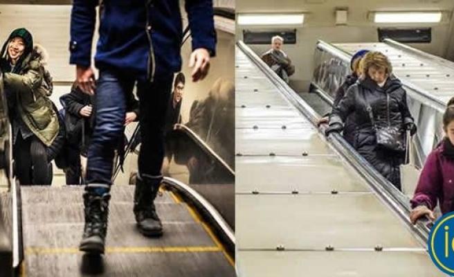 SL-Metro merdivenleri üç hafta sonra yeniden yürümeye başladı
