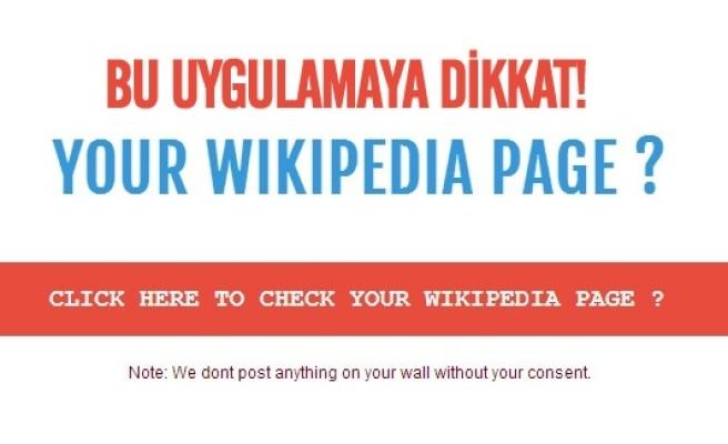 Sosyal Medya tuzaklarında yeni trend Wikipedia!