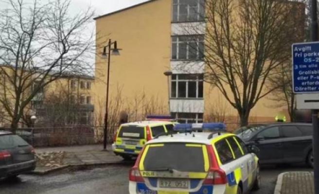 Stockholm'de bir öğrenciye okulda bıçaklı saldırı