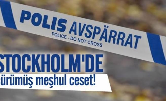 Stockholm'de çürümüş ceset!