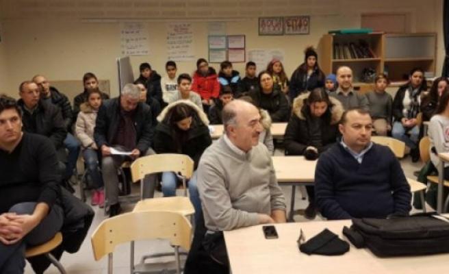 Stockholm'de gurbetçi çocuklara ''Anadil'' kursu başlatıldı