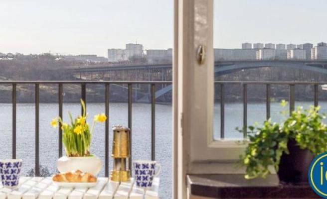 Stockholm'de küçücük bir daire şok fiyata satıldı