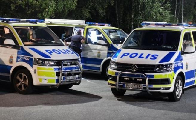 Stockholm'de Polis,'Dur' ihtarına uymayan kanun kaçağına ateş açtı