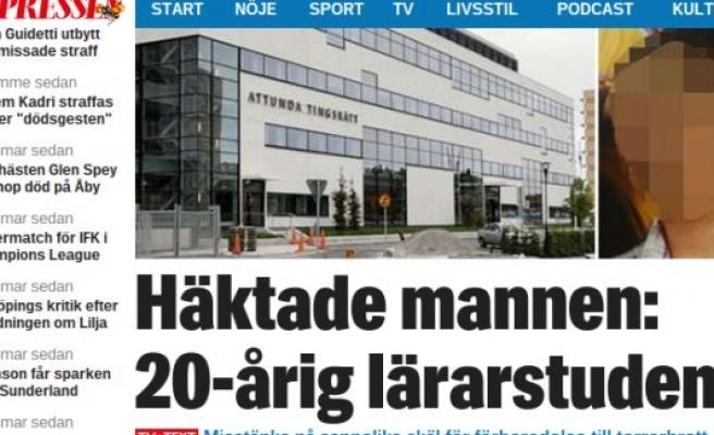 Stockholm'de terör saldırısı yapmaya hazırlan bir kişi tutuklandı