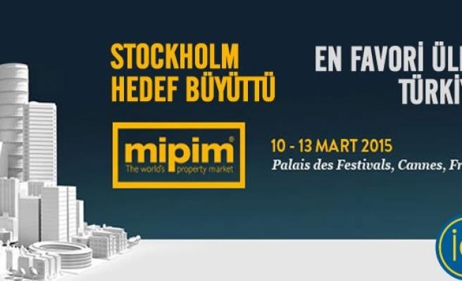 Stockholm Devler arenası MIPIM 2015 hedeflerini büyüttü