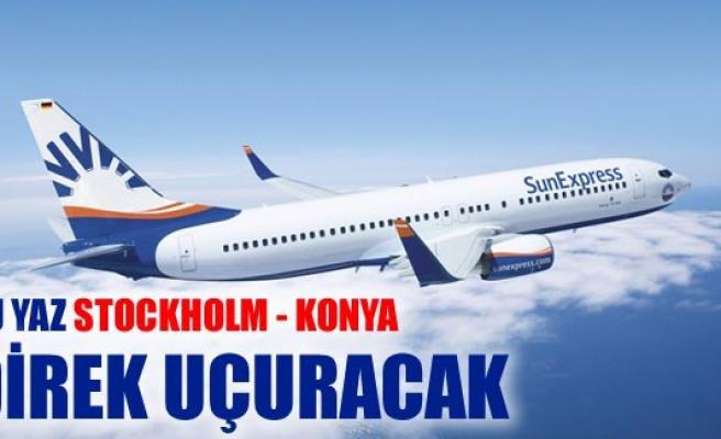 SunExpress bu yaz Stockholm - Konya direk uçuracak