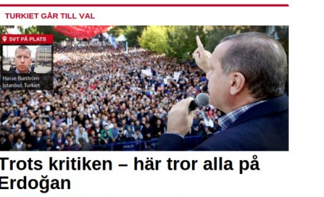 SVT:''Eleştirilere rağmen çoğunluk Erdoğan'a güveniyor''