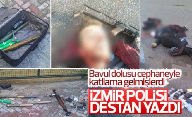 Teröristler adliyeye bavul dolusu cephaneyle saldırdı