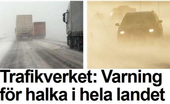 Trafik kazalarına karşı uyarı!