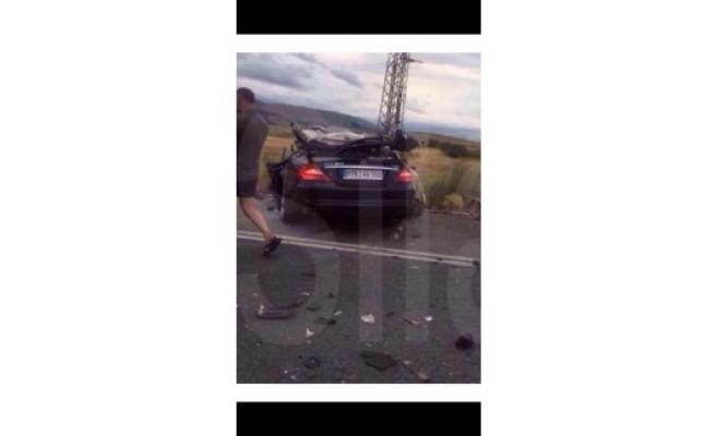 Türk aile Bulgaristan'da kaza yaptı