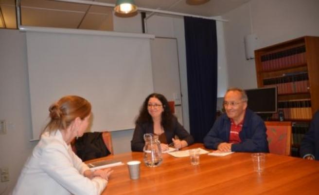 Türk Gazeteciler, İsveç Dışişleri Bakanlığı Türkiye Masası şefi ile buluştu