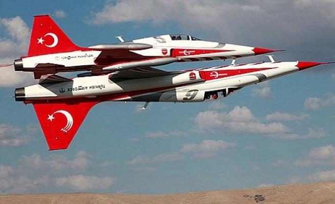 Türk Pilotları İskandinavya hava sahasında şov yapacak...VİDEO