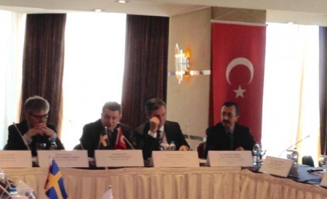Türkiye, İsveç 1. Ortak komite toplantısı yapıldı...FOTO