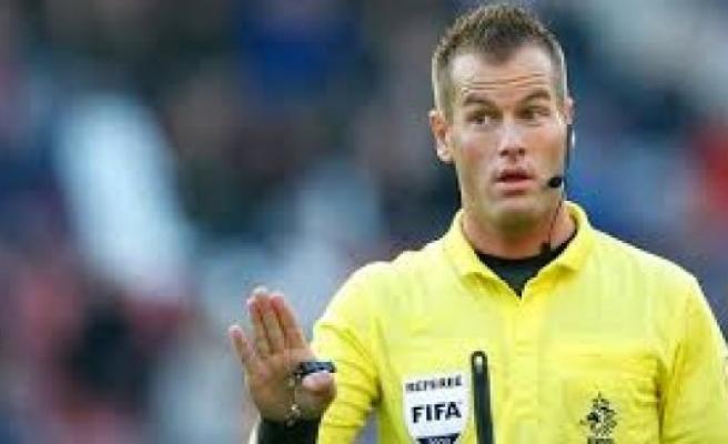 Türkiye - İsveç Maçını Danny Makkelie Yönetecek