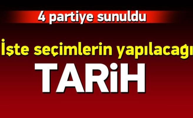 Türkiye seçime gidiyor YSK'nın seçim takvimi belli oldu