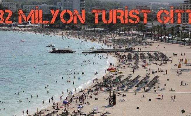 Türkiye'ye gitmeyen yabancı turisti İspanya kaptı