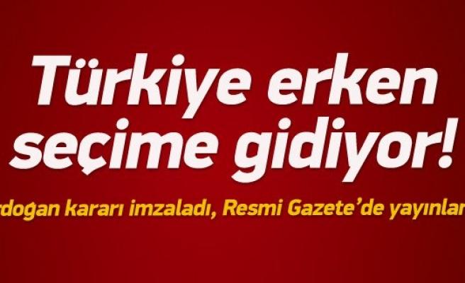 Türkiye yeniden seçime gidiyor
