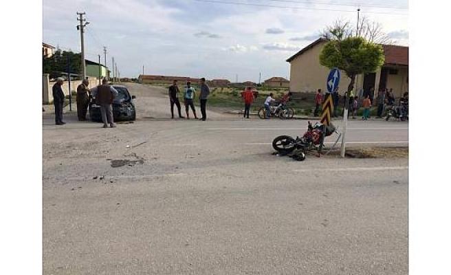 Tuzyaka'da Kaza 1 Ağır Yaralı
