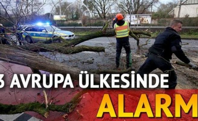 Üç Avrupa Ülkesinde Alarm