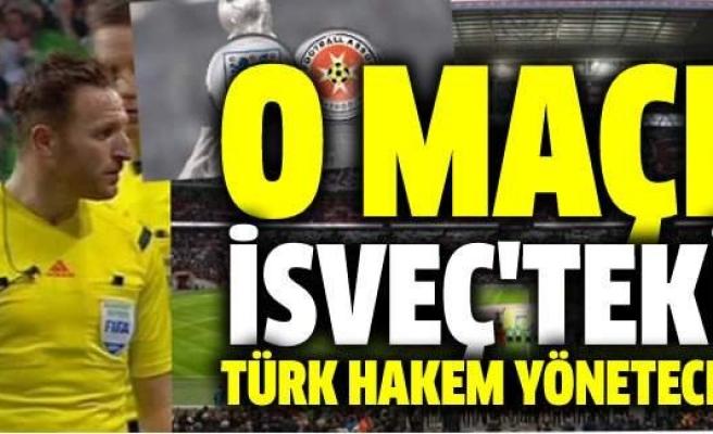 UEFA'dan Türk asıllı İsveçli hakeme görev