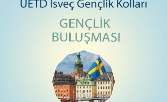 UETD İsveç gençlik buluşması